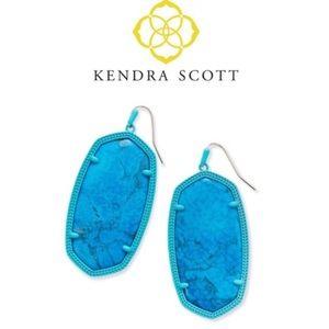 Kendra Scott Danielle Matte Statement Earrings